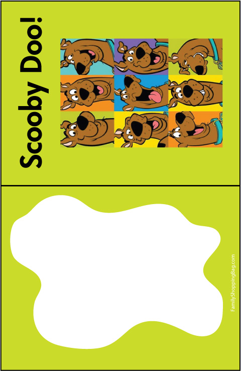 Scooby Heads Invitation