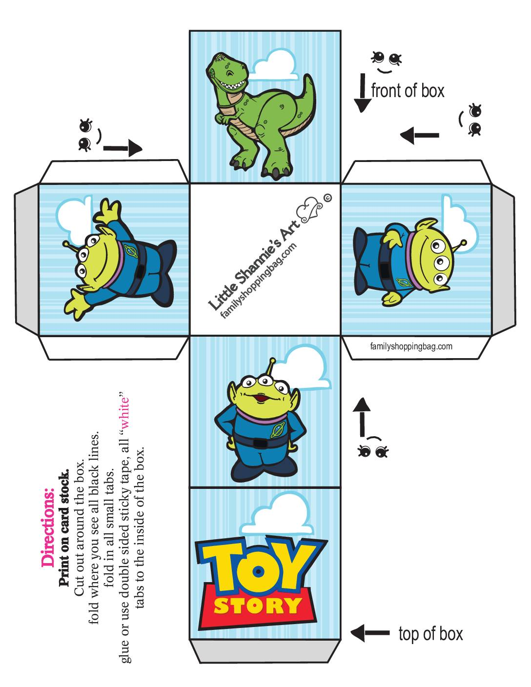 Small Box Toy Story