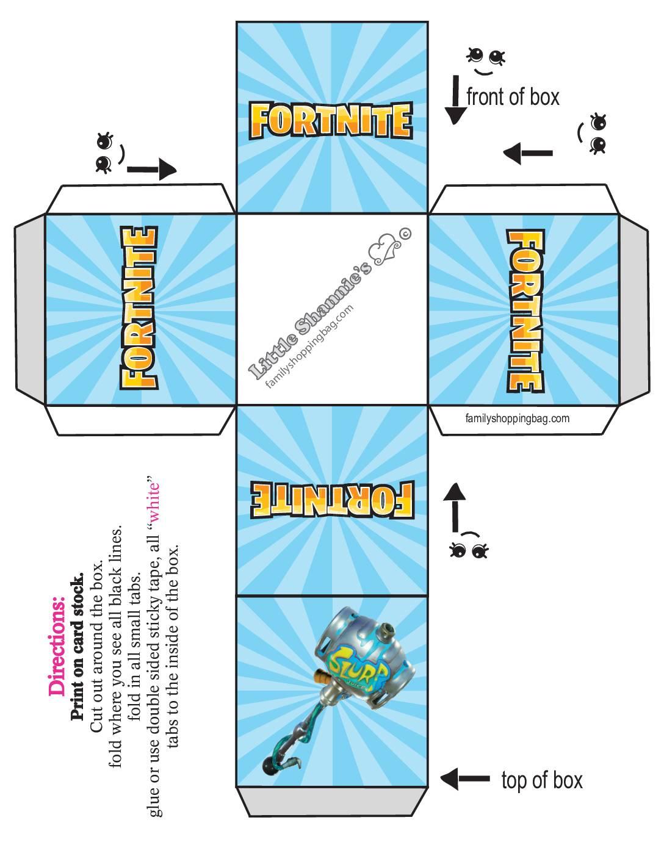 Small Favor Box Fortnite