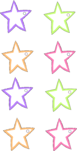 Stars Gift Tags