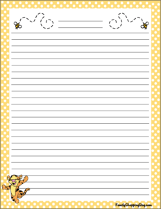 Winie the Pooh Stationery 3