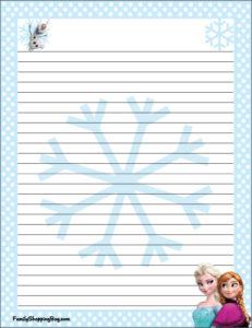 Frozen Stationery 3