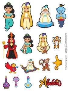 Stickers Aladdin