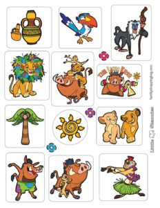 Stickers Lion King