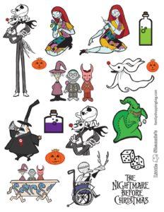 Stickers Nightmare BC