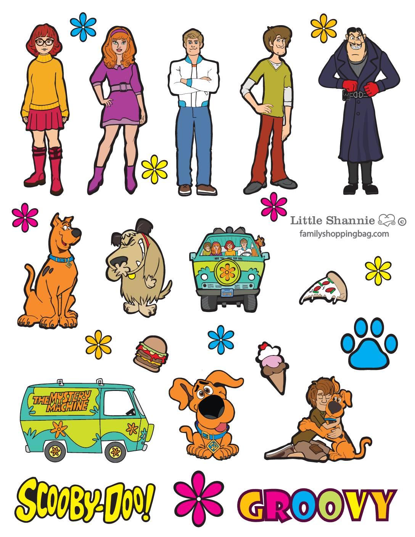 Stickers Scooby Doo