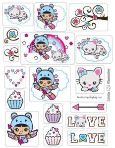 Stickers Valentine Shannies