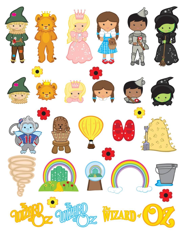 Stickers Wizard of Oz