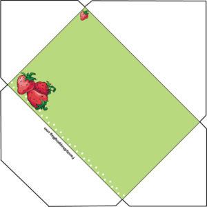Strawberry Envelope