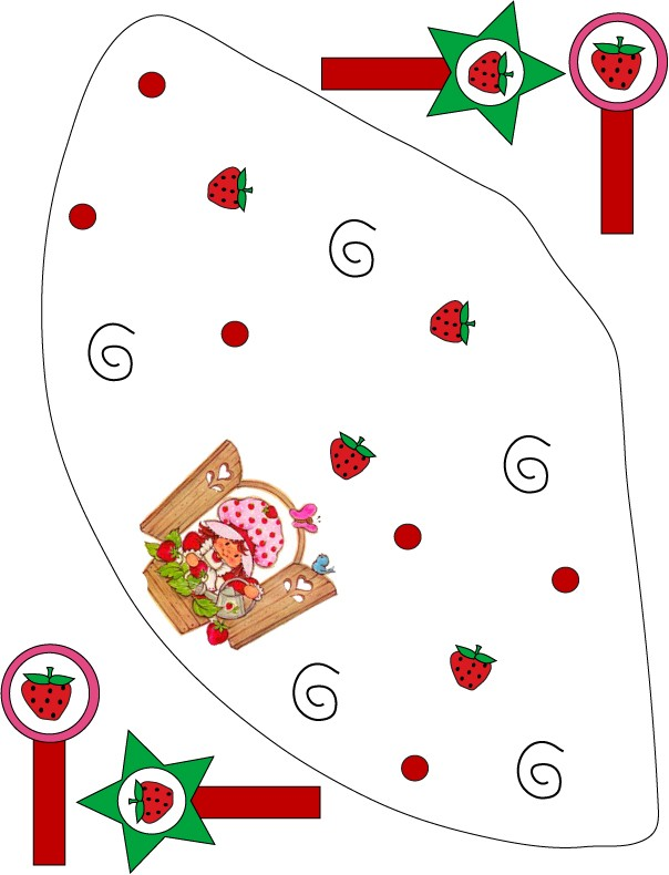 Strawberry Shortcake Party Hat