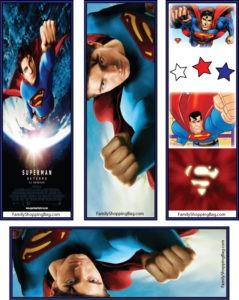 Superman Bookmarks