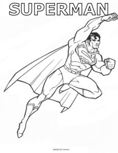 Superman Fly Away