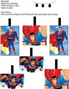 Superman Mobil Decor