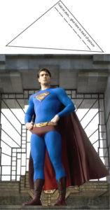 Superman Table Decor