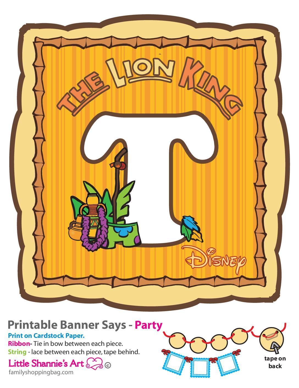 T Lion King