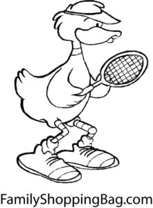 Tennis Duck