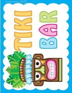 Tiki Sign Luau