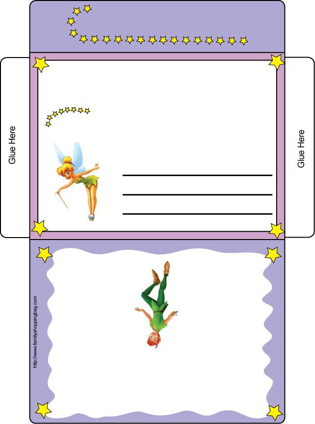 Tinker Bell Letter Envelope