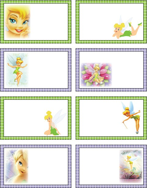 Tinker Bell Tags