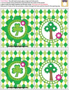 Treat Bag St. Patricks Day printable
