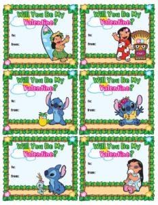 Valentine Lilo and Stitch