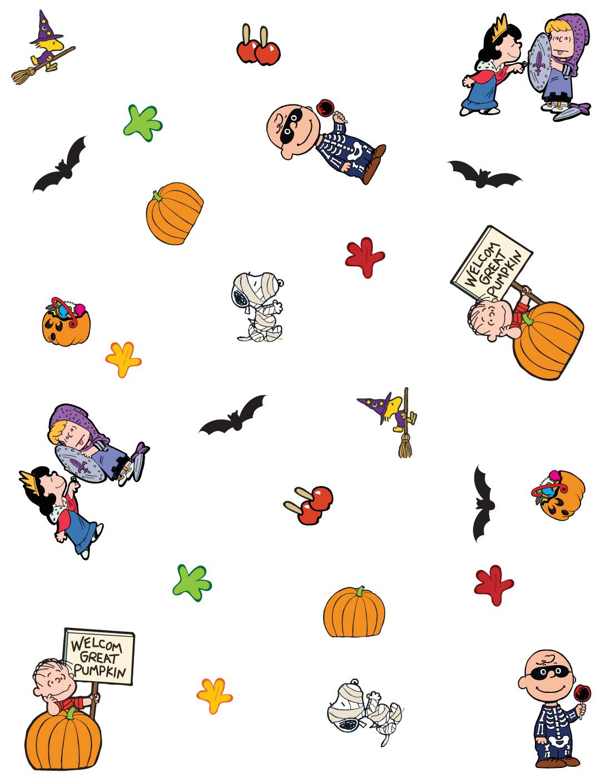 Wall Paper Peanuts Halloween