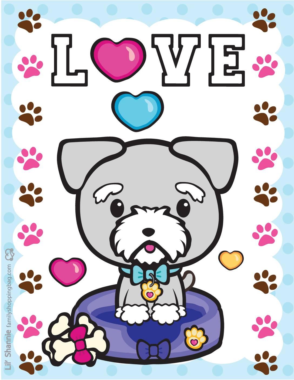 Wall Pics 2 Valentine Pups Kittens