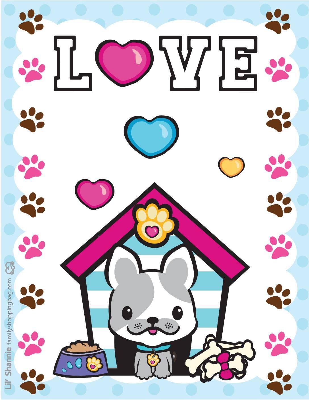 Wall Pics Valentine Pups Kittens