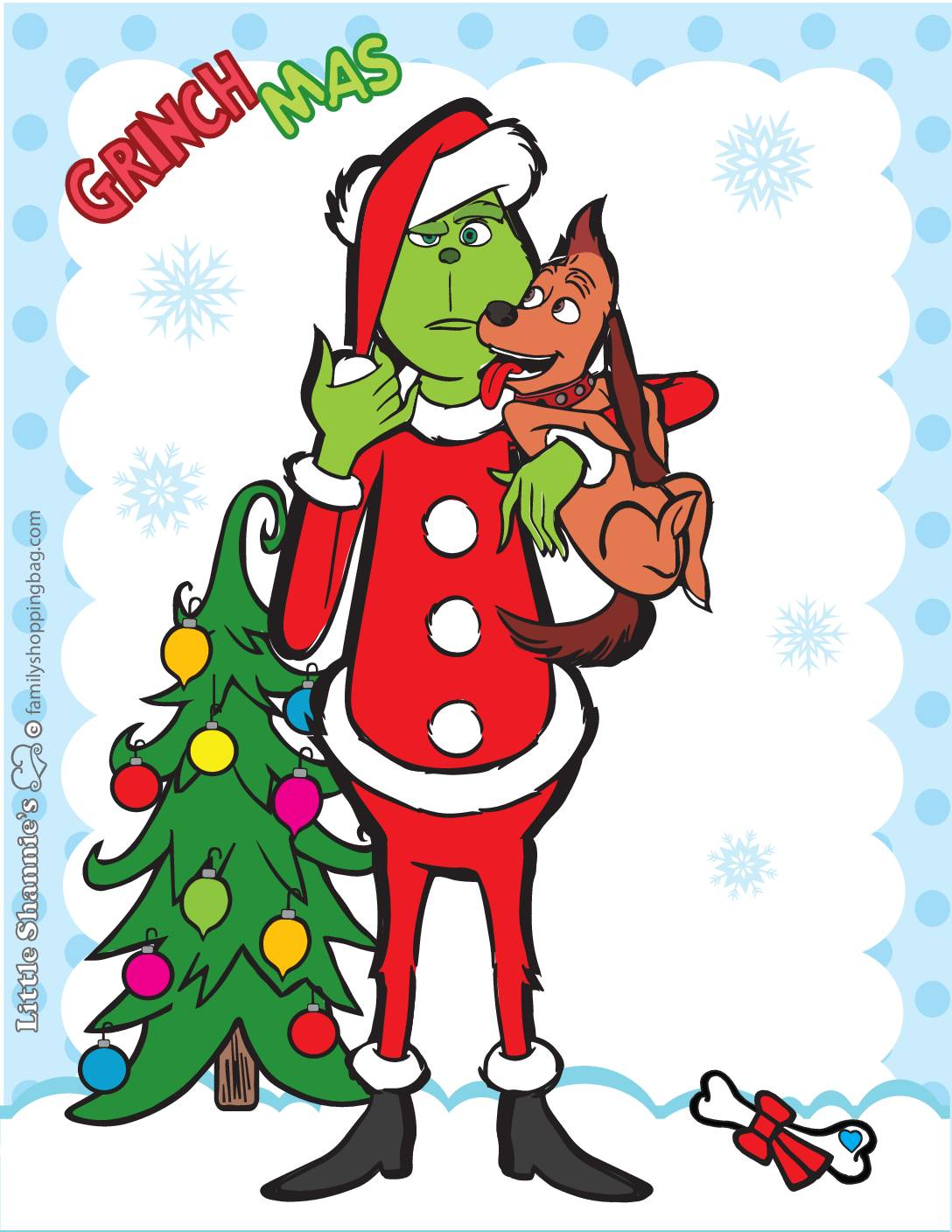 Wall Picture 2 Grinch