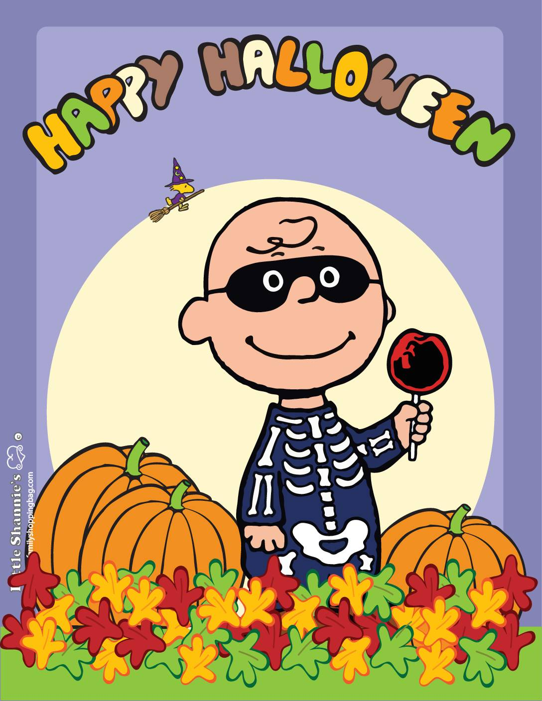 Wall Picture 3 Peanuts Halloween