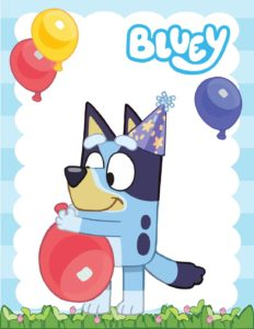 Wall Picture 6 Bluey