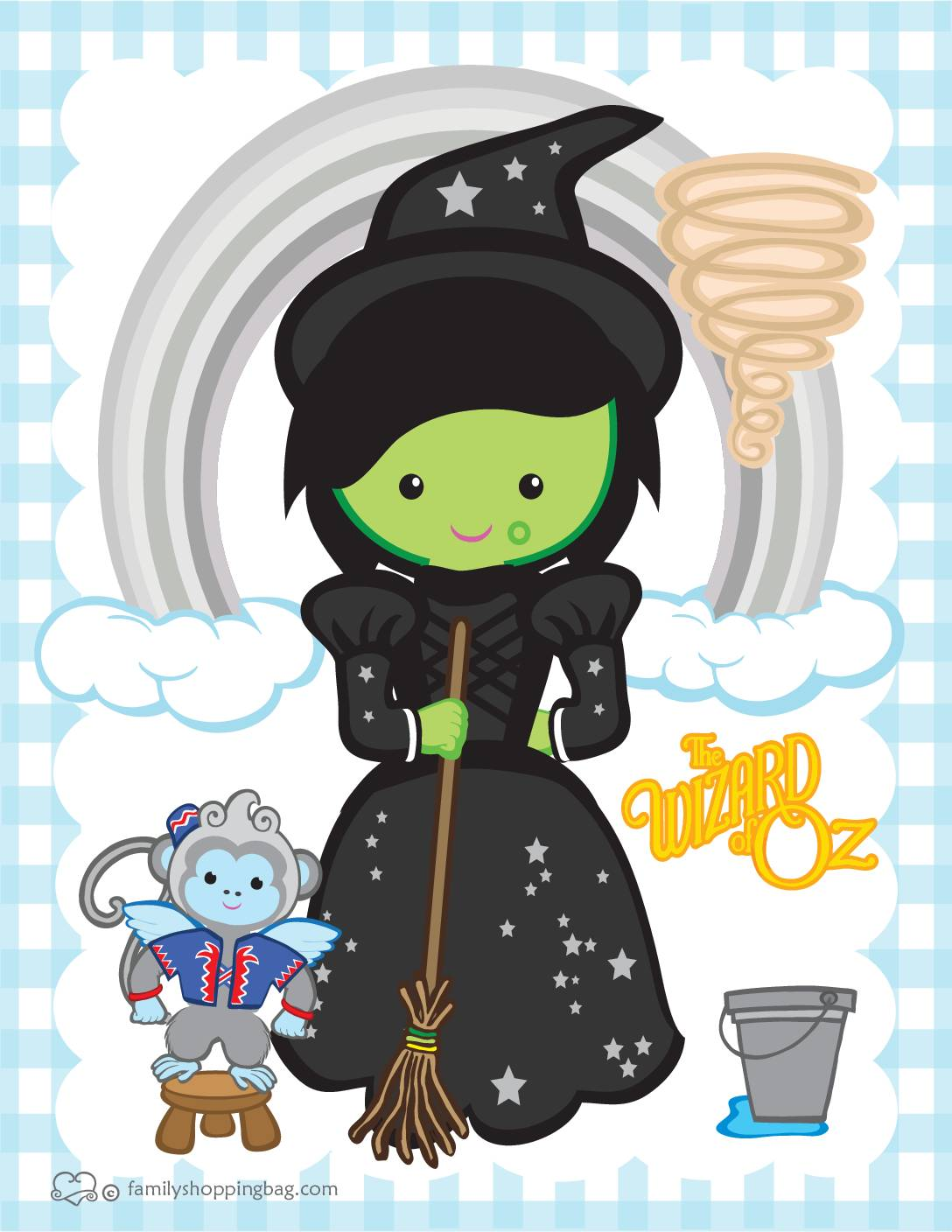 Wall Picture 6 Wizard of Oz