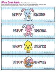 WaterLabels Easter