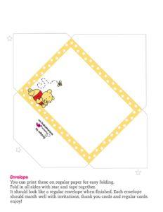 Winnie the Pooh Envelope