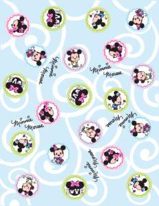 Printable Minnie Wrap Paper