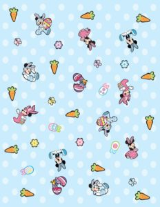 Wrap Paper Mickey Mouse Easter