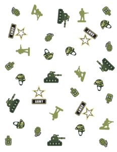 Wrapping Paper Army