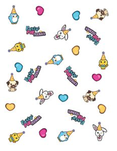 Wrapping Paper Party Pop Teenies