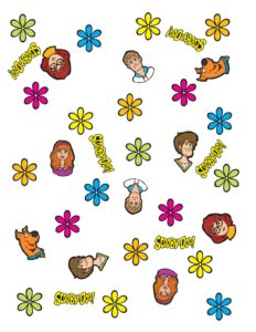 Wrapping Paper Scooby Doo