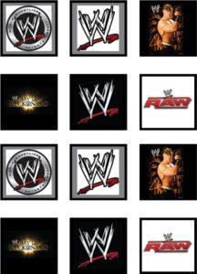 Wrestling Stickers