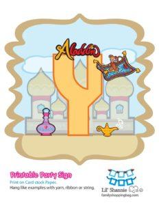 Y Banner Aladdin
