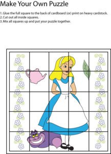 Puzzle 1 Alice