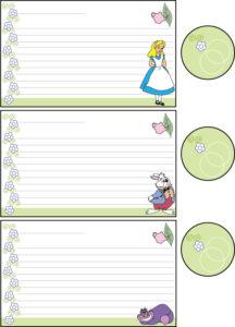 Recipe Cards 1 Alice
