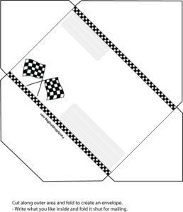 Cars Envelope