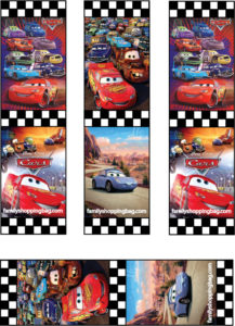 Cars Bookmarks