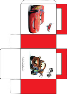 Cars Favor Box