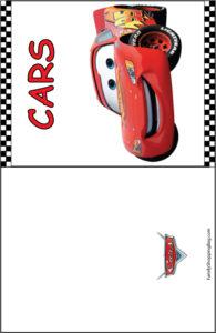 Cars Blank Card