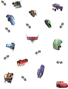 Cars Wrapping Paper