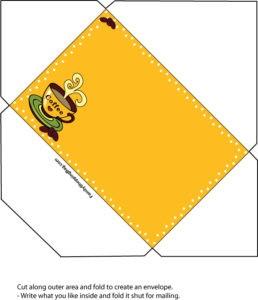 Coffee Envelope Card 1