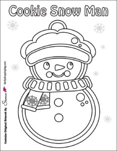 coloring Page 2 Christmas